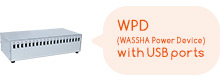 WPD(WASSHA Power Device) with USB ports